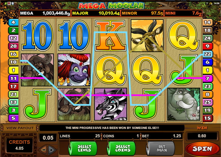 Euro jackpot slot machine 55279