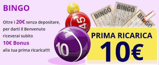 Bingo elettronico slot 39455