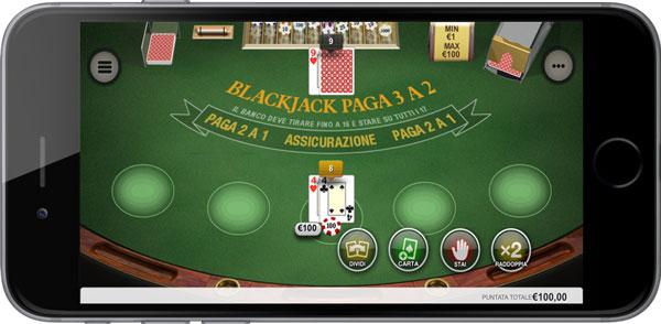 Blackjack Le prime mani indurre