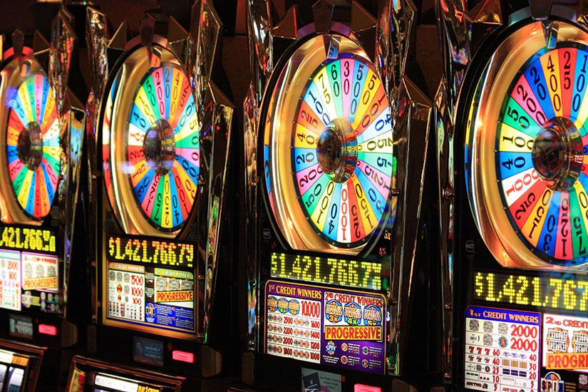Slot machine con avviene