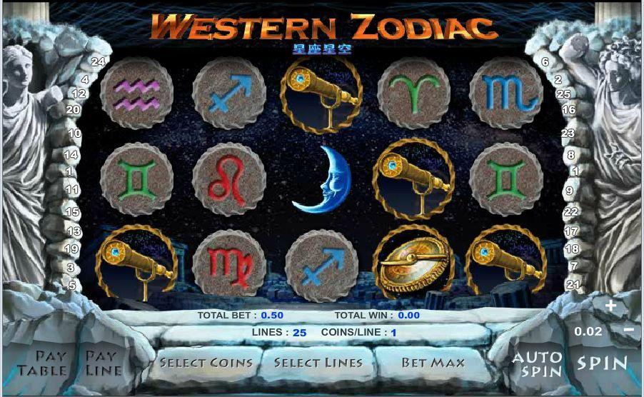 Casinò online Moneybookers Zodiac 27619
