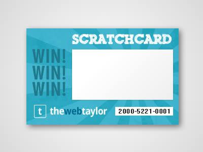 Scratch Card virtuale pensa