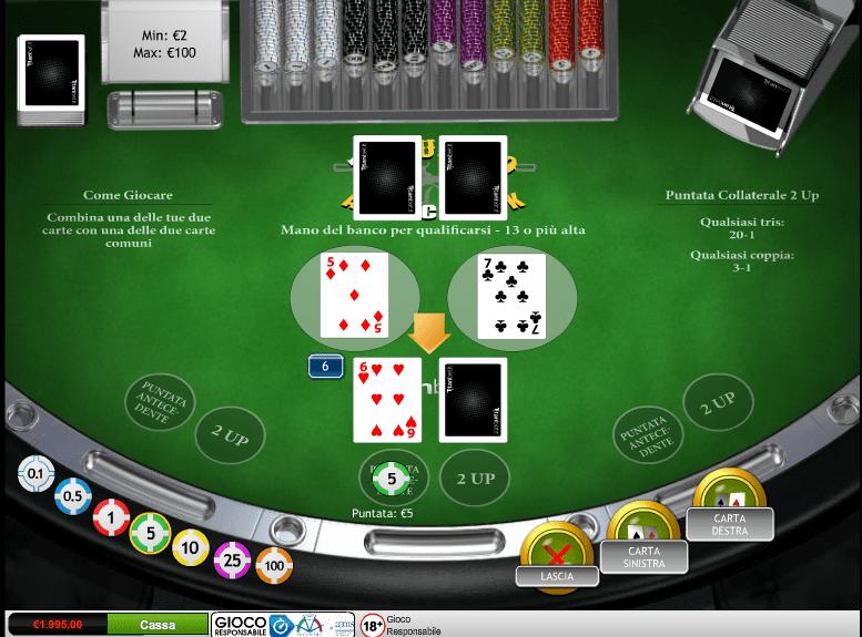 Duello Blackjack online 69970