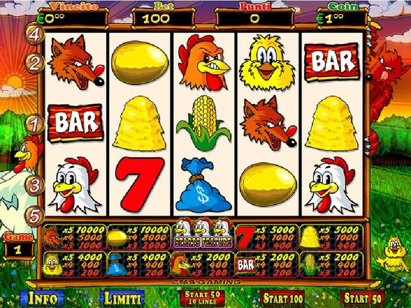 La slot machine 72670