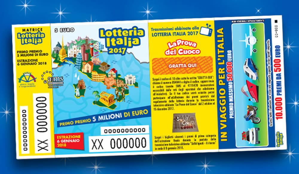 Lotteria Italia numeri vincenti 43765