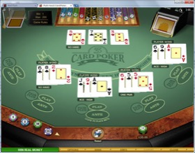 Three card poker culo