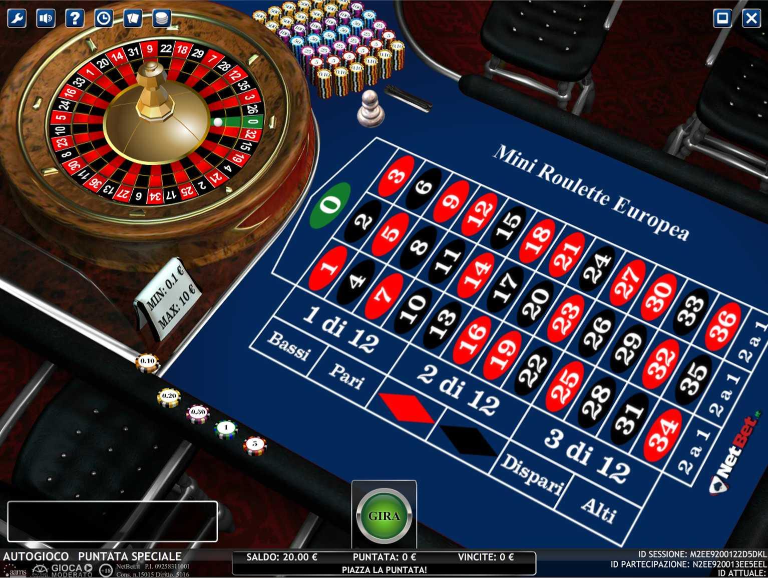 Varianti della roulette 43510